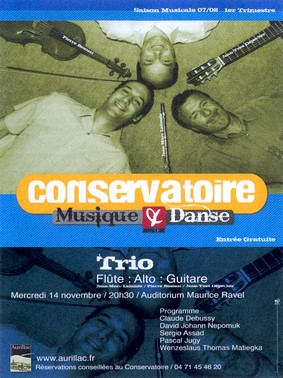 Conservatoire de Musique et danse d'Aurillac, Cantal