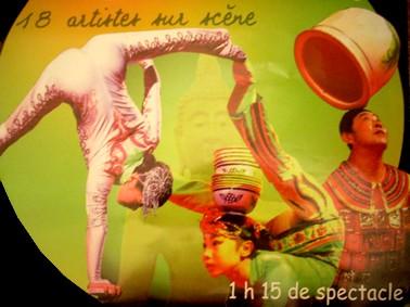 Cirque de chine Tidjin, animation espace centre ville Aurillac, commerçant