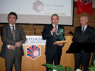 Hubert Desjonquières, lyocentre Aurillac, coach Cantal 2008, Vincent Descoeur, Paul Mourier préfet du Cantal