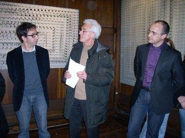 Sebastien Camboulive, Patrick Carpentier, Christian Garcelon, esposition à Aurillac