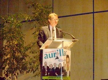 Yvon Bec, Un avenir pour Aurillac, Municipales Aurillac 2008