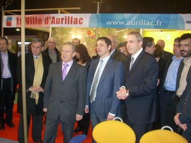 Foire exposition Aurillac 2008, les élus