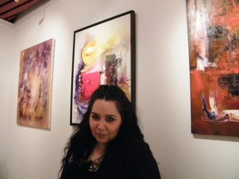 Muriel Cayet, peintre