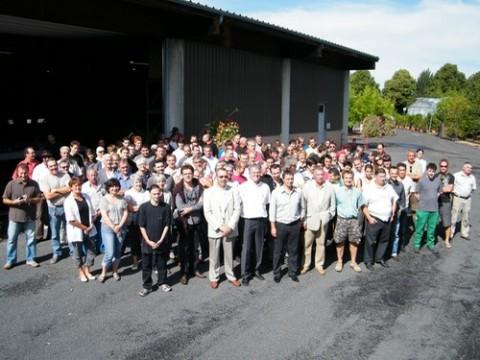 Equipe des services techniques de la ville d'Aurillac
