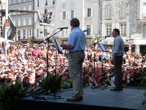 Jacques Mézard et Alain Calmette ouvrent le festival 2009