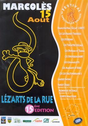 Léz'arts de la rue à Marcolès, Cantal