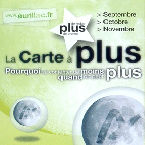 Carte A+ Aurillac