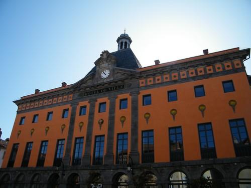 Hôtel de ville d'Aurillac, Cantal, rénové