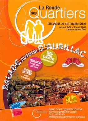 Ronde des quartier 2009 à Aurillac