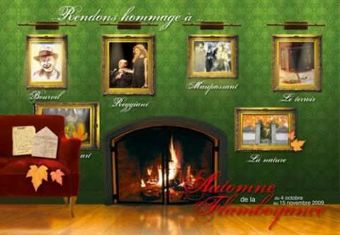 Automne de la Flamboyance 2009 à Aurillac