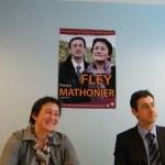 Claudine Fley, Pierre mathonier
