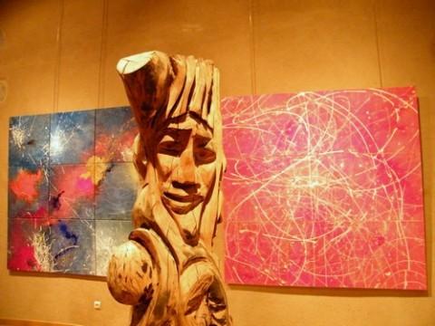 Sculpture et Peinture, Exposition à Aurillac