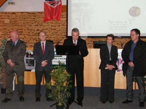 Bernard Bouniol présente les voeux de la CCI du Cantal