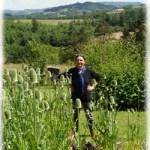 Michèle Dallon, les jardin de l'indigo