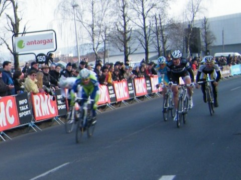 Arrivée du Paris Nice à Aurillac, Sagan sprint