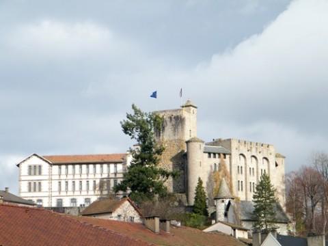 Château de St Etienne à Aurillac, Cantal