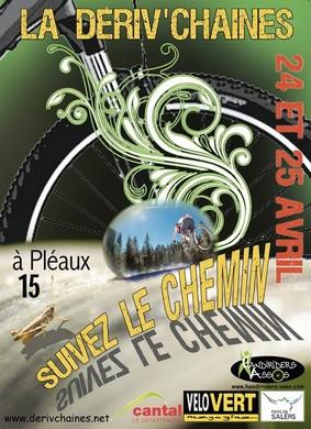 Dériv'chaînes_2010 à Pleaux Cantal
