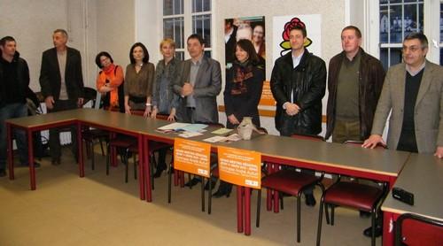 PS, MRC, PRG Cantal pour les régionales 2010