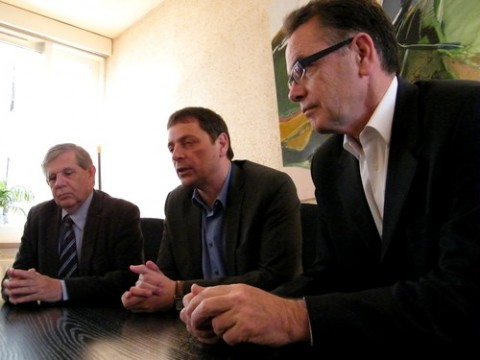 Jacques Mezard, Alain Calmette, Christian Teyssedre