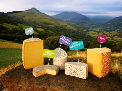 Dégustation et vente de fromages d'Auvergne