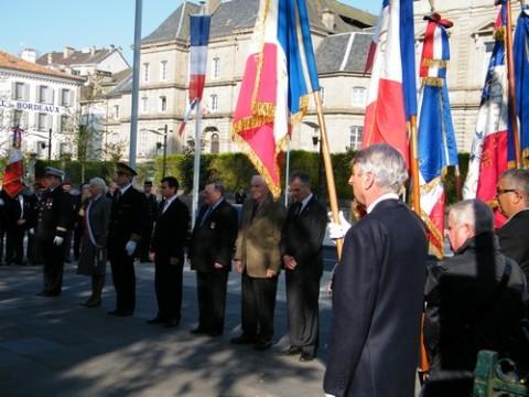Journée nationale de la déportation à Aurillac, Cantal