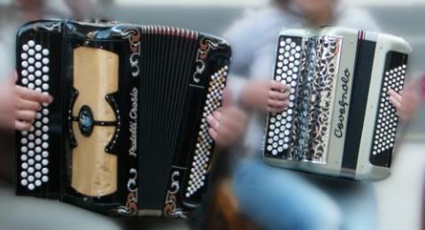 Gala d'accordéon à Raulhac, Cantal