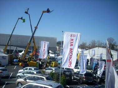 Foire expo à Aurillac 2010