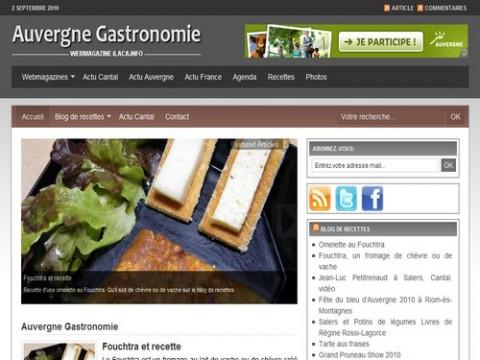 Auvergne Reportage et Auvergne Gastronomie