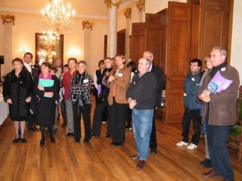 Nouveaux habitants d'Aurillac dans les salons de l'Hôtel de Ville