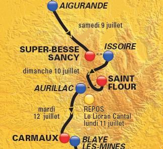 Tour de France 2011 à Aurillac