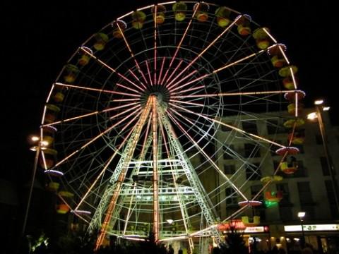 Grande roue à Aurillac, Cantal