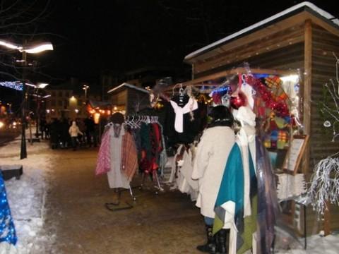 Marché de Noël à Aurillac, Cantal
