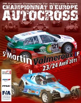 Championnat d'Europe d'Autocross 2011 à St Martin Valmeroux