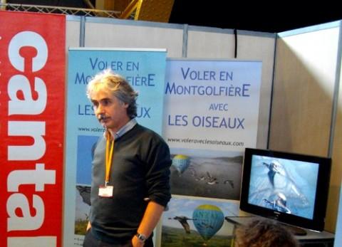 Christian Moullec à Lyon, sur le salon Mahana