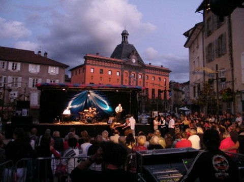 Terrasses musicales 2011 à Aurillac