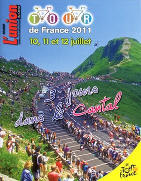 Supplément dans l'Union: Tour de france, Saint-Flour, Lioran, Aurillac