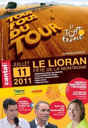 Tour de France 2011, Le Lioran Fête de la montagne