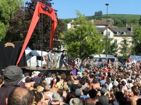 Festival de théâtre de rue d'Aurillac 2012
