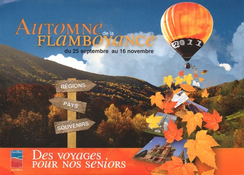 Automne de la flamboyance 2011 à Aurillac