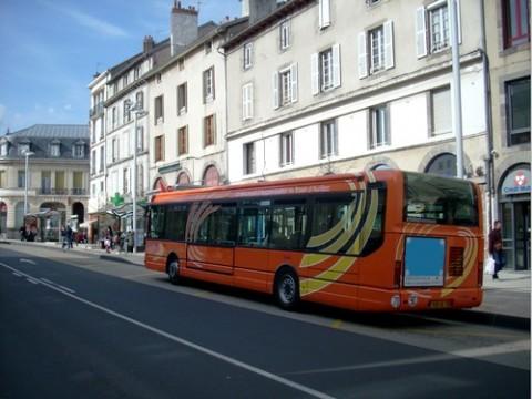 Bus à Aurillac