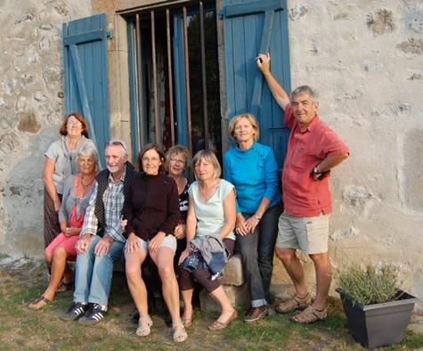 Randonneurs Bretons dans le cantal