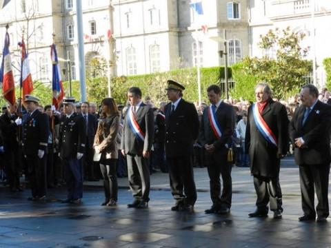 Commémoration du 11 novembre à Aurillac