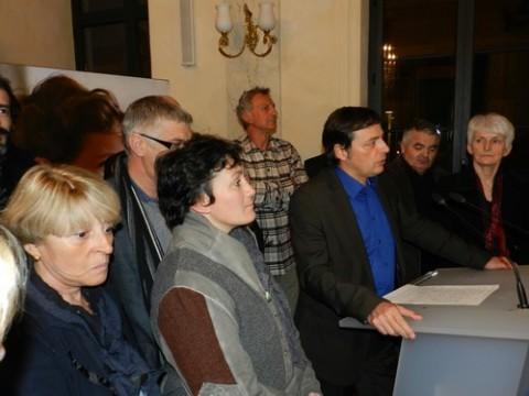 Voeux 2012 au monde associatif par le maire et les élus d'Aurillac