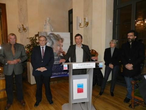 Voeux 2012, municipalité d'Aurillac et Communauté d'Agglomération