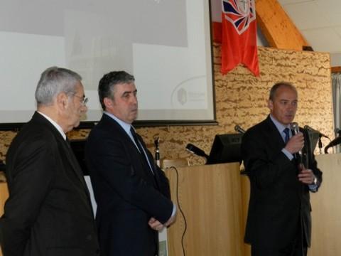 Bernard Bouniol, Vincent Descoeur, Stéphane Richard