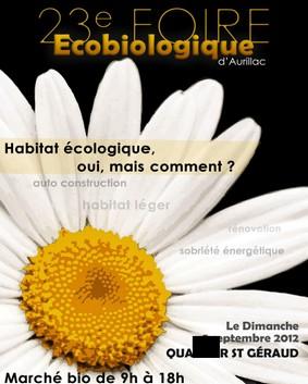 Foire Bio d'Aurillac 2012