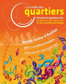 Ronde des Quartiers à Aurillac 2012