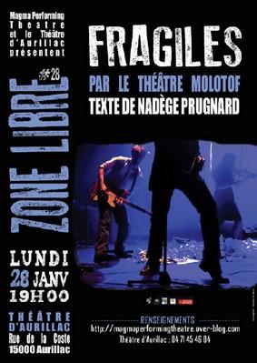 Fragiles au théâtre d'Aurillac