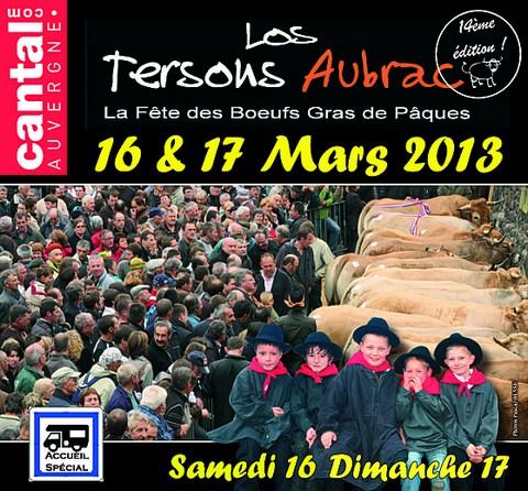 Fête des Tersons d'Aubrac 2013 à Pierrefort