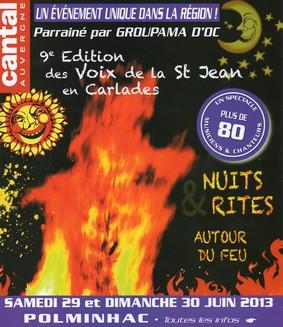 Voix de la Saint-Jean 2013 à Polminhac